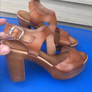 cc30b082d6d Shoes - Women s Marila Cognac Tan Leather Sandals Size 9M